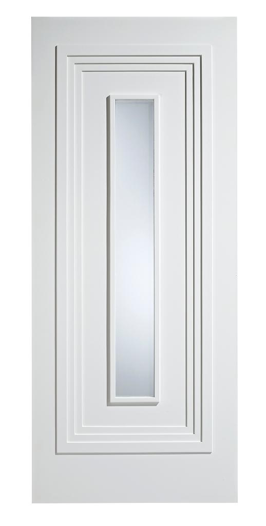 Atlanta Glazed-White  sc 1 st  CJ Smith Doors & Internal White Primed Door Stockist - Dudley West Midlands