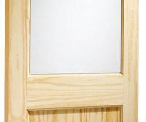 External Pine Doors 2XG Clear Glass